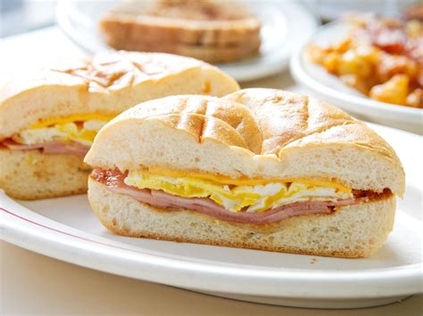 The Best Toaster Ovens Reviews Ham Egg And Cheese Sandwich From Cup And Saucer In