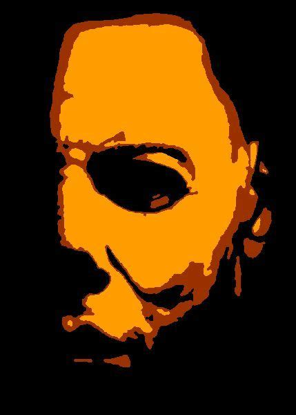 Michael Myers Halloween Pumpkin Stencil - pin by michelle reed on grim grinning ghosts pinterest