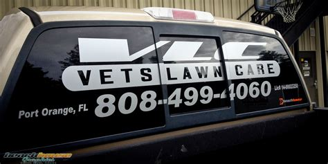 Window Decals Jacksonville Fl by Orlando Jacksonville Vehicle Lettering Vinyl Decal