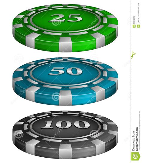 chip cost casino chips with cost stock photo image 33910030