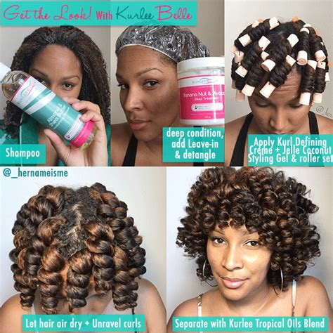 perm rod natural hair products kurlee belle july 2015