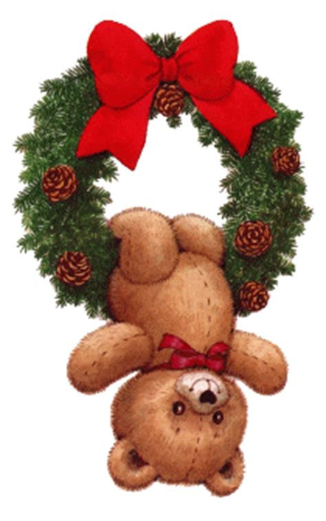 christmas bears animated images gifs pictures
