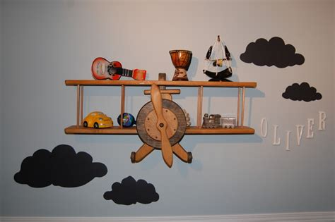 airplane decor boys zimmer air plane bedroom eclectic toronto by decked