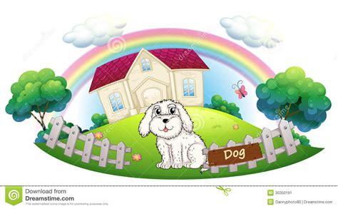 dog fences for inside the house a white dog sitting inside the fence stock image image 30350191