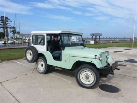 Kelley Jeep Purchase Used 1971 Cj5 Jeep Dauntless V6 With Partial