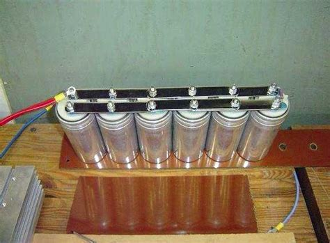 parallel capacitor bank pulsed linear induction motor introduction