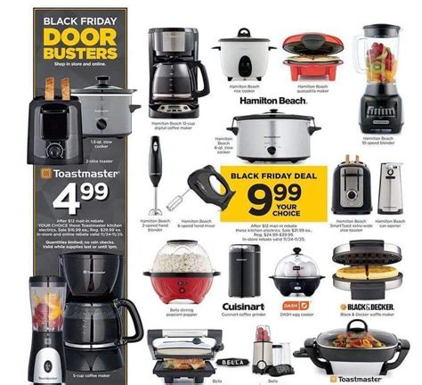 black friday kitchen appliances kohls black friday ad 2017 deals store hours ad scans