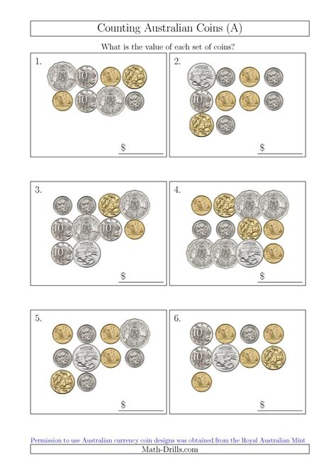 Counting Coins 1 10 Belanbe math coin worksheets 1000 images about homeschooling