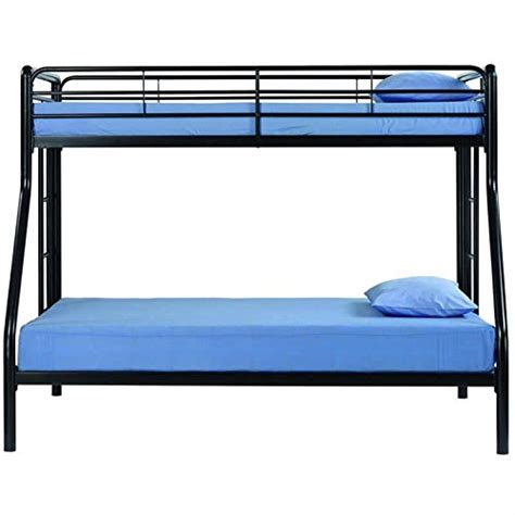 dorel twin over futon bunk bed dorel home products twin over full bunk bed black your