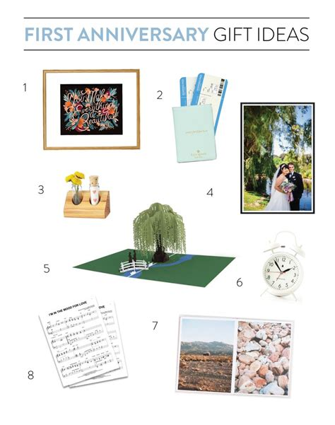 1st Wedding Anniversary Vacation Ideas by Anniversary Gift Ideas Lovepop