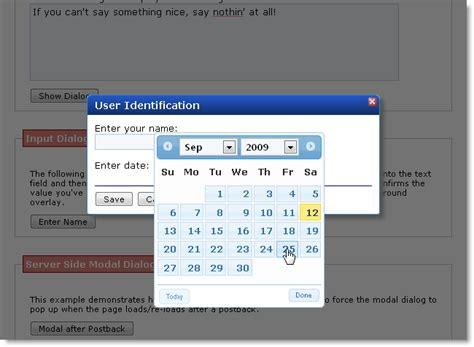 jquery datepicker format date mysql jquery ui datepicker and z index rick strahl s web log