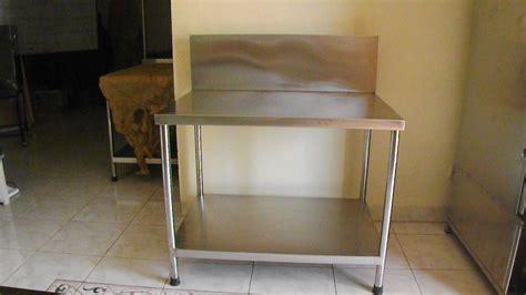 Jual Sho Metal Malang meja stainless murah di malang
