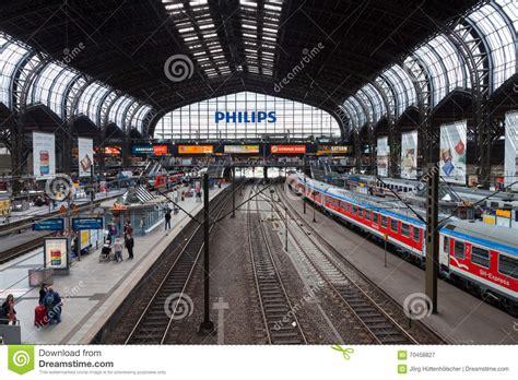 German Regional Express From Deutsche Bahn Arrives