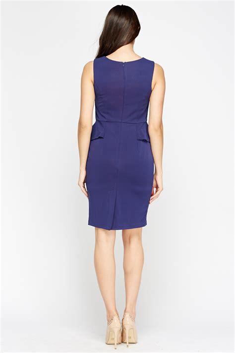 Blue Peplum Dress blue peplum dress just 163 5