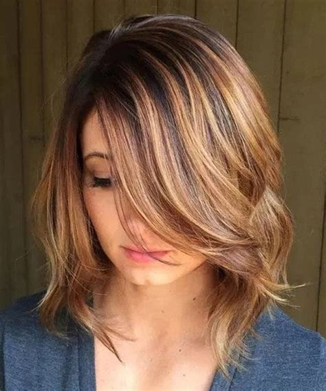 Hottest mid length layered bob hairstyles 2018 for women styles beat