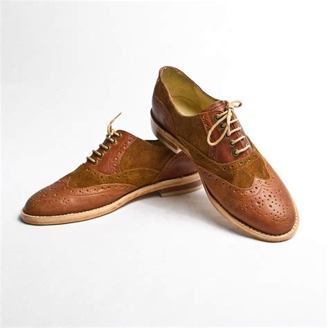 oxford shoes brown oxford shoes s brown by goodbye folk fab