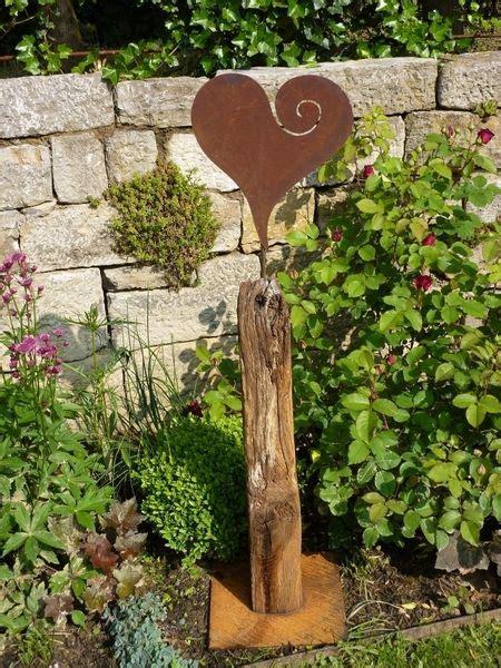 Gartendeko Holzbrett by 220 Ber 1 000 Ideen Zu Gartenskulpturen Auf