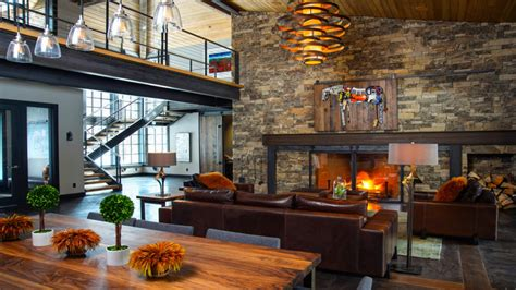 Industrial Rustic Living Room by Industrial Modern Living Room Modern House