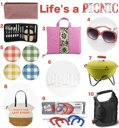 10 essential picnic items