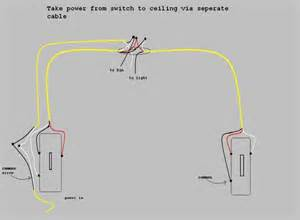 wiring for ceiling fan with light wiring a ceiling fan with lights between 3 way switches