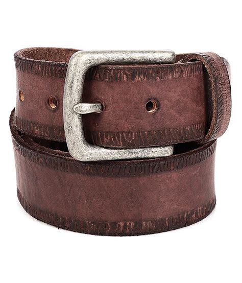 breakbounce brown leather belt buy at low price in