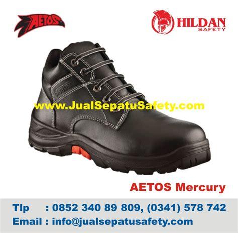 Sepatu Safety Electrical toko sepatu aetos mercury black harga pabrik