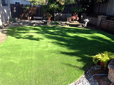 installing turf in backyard how to install artificial grass blyn washington dogs