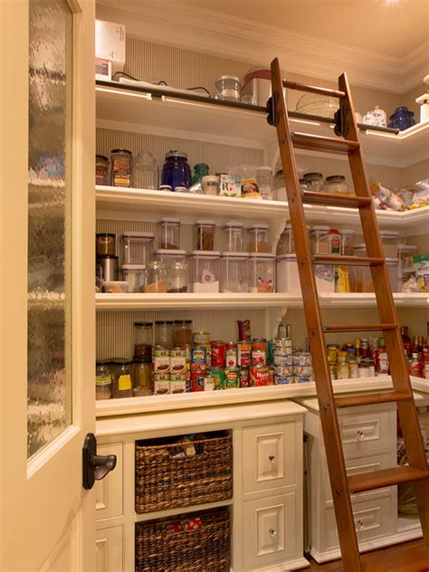 walk in kitchen pantry ideas a look at some walk in pantries from houzz homes of the rich