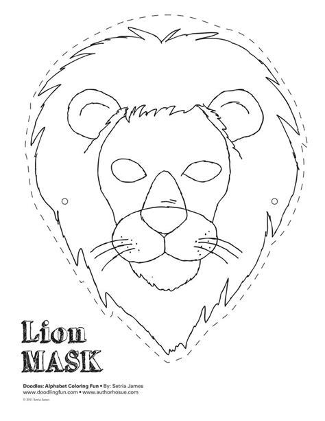 jungle mask templates animal mask templates search masks costumes