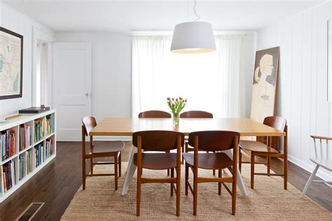Mid Century Dining Room by On Display Christine And Gachot S Shelter Island