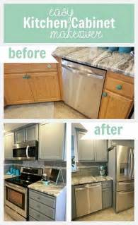 Easy Kitchen Cabinet Makeover Decoart Diy Easy Kitchen Cabinet Makeover