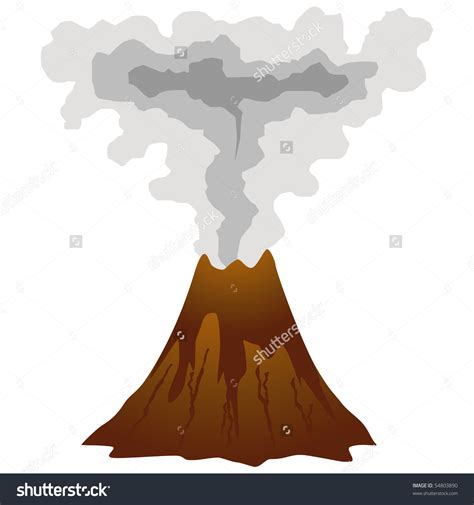 clipart volcano volcanic ash clipart clipground