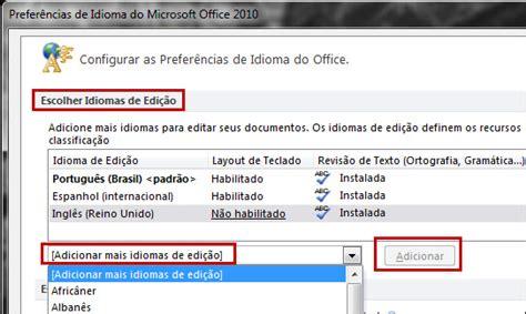 tutorial excel 2010 em portugues como mudar o idioma do office 2010 tutorial softonic