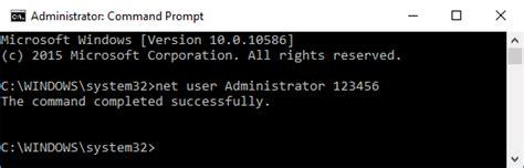 reset vista password command prompt 6 ways to reset forgotten windows 10 password for