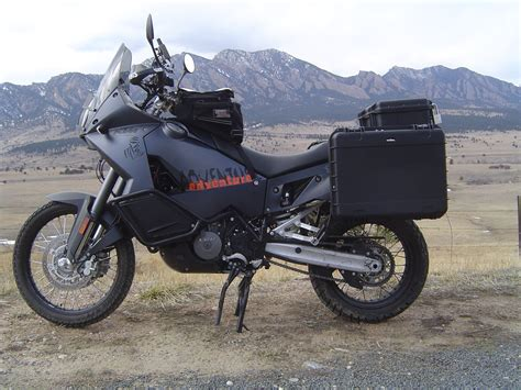 Ktm 990 Adventure Pannier Rack Ktm 950 990 Adventure 40 Liter Side Luggage