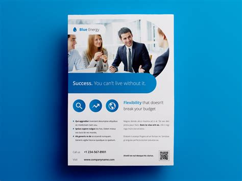Business Flyer Ad Template 4 By Env1ro Dribbble Advertising Template