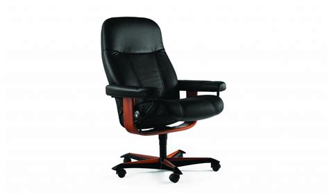stressless recliner reviews stressless consul office chair review chairs seating