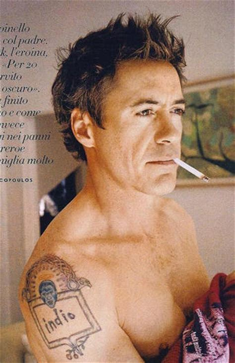 robert downey jr tattoo list inkedceleb