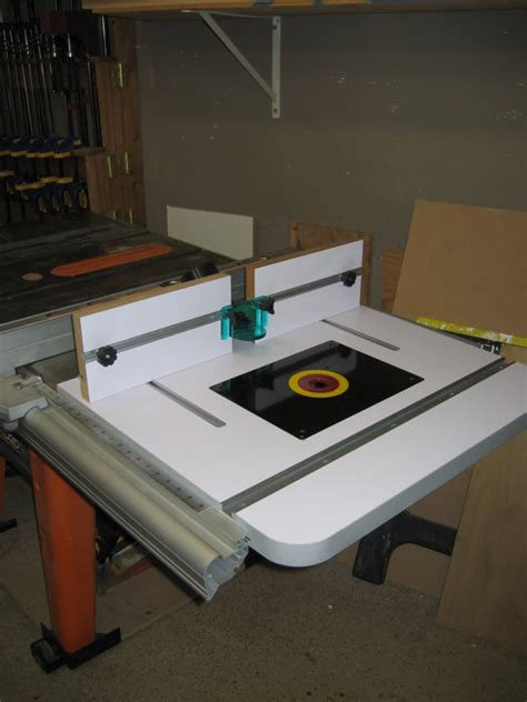 table saw router table by ken90712 lumberjocks