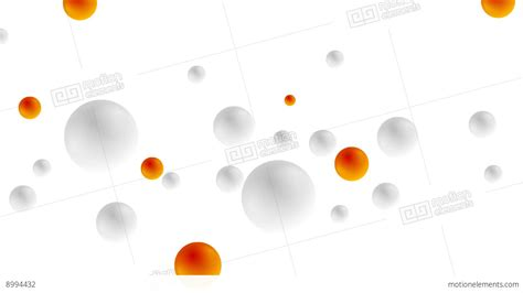 Hd 14 Grey Orange grey and orange balls animated background stock animation