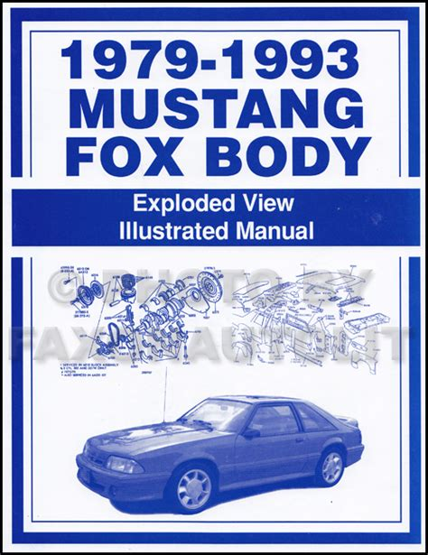 auto manual repair 1993 ford mustang user handbook 1990 ford mustang electrical vacuum troubleshooting manual original