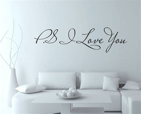 home decor love valentine s day hot selling ps i love you home decor wall