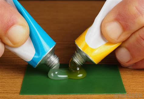 how to glue on a parting piece what are the different types of epoxy glue with pictures