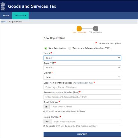 how to register a gst in india how to register at gst gov in portal documents required and important