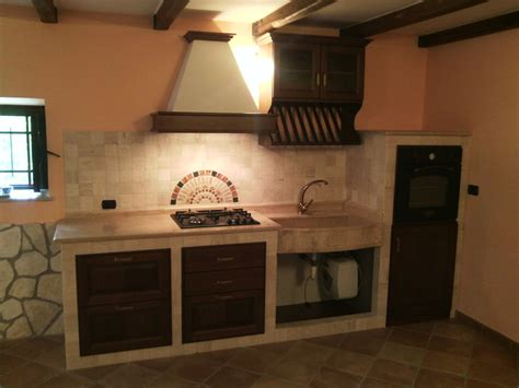 cucine in muratura torino cucina in muratura noce