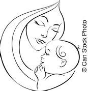 mother baby illustrations and clipart 26 332 mother baby