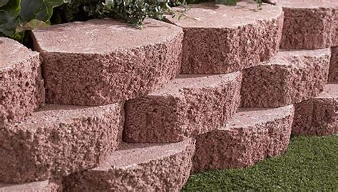 Landscaping Blocks Ideas 35 Retaining Wall Blocks Design Ideas How To Choose The Right Ones