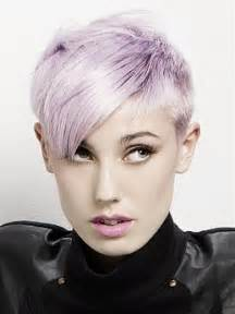 colored undercut purple hair color ideas