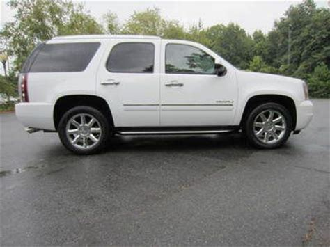 manual cars for sale 2010 gmc yukon navigation system purchase used 2010 awd yukon denali 1500 white with tan interior dvd navigation in greensboro