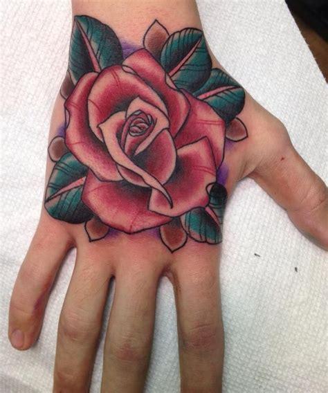 tattoo rose on hand 257 best rose tattoos images on pinterest rose tattoos